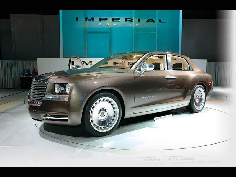 """Североамерианское автошоу 2006: Имперский """"Chrysler"""""""