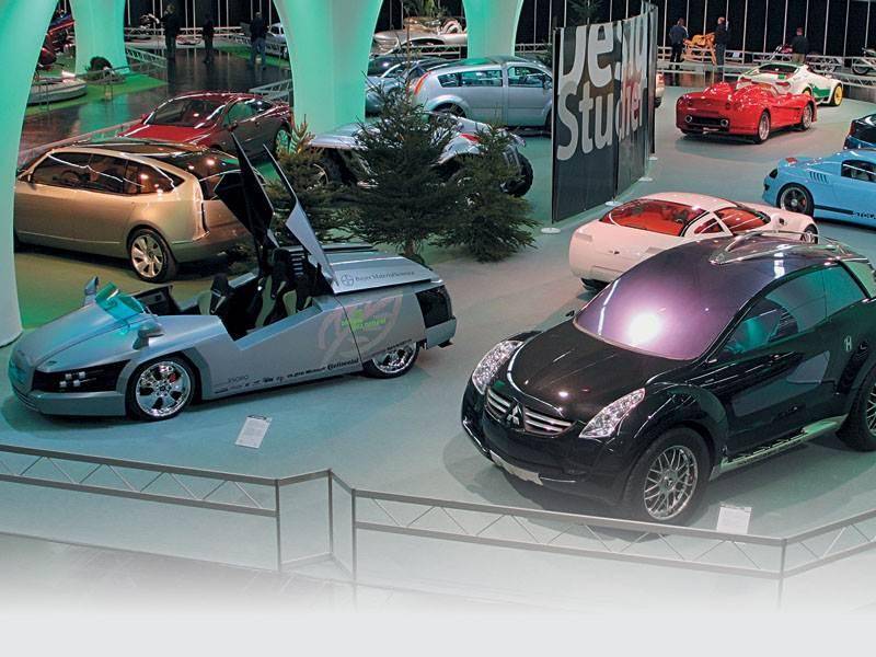 Моторшоу в Эссене 2005 : Выставка тюнинговых и спортивных автомобилей