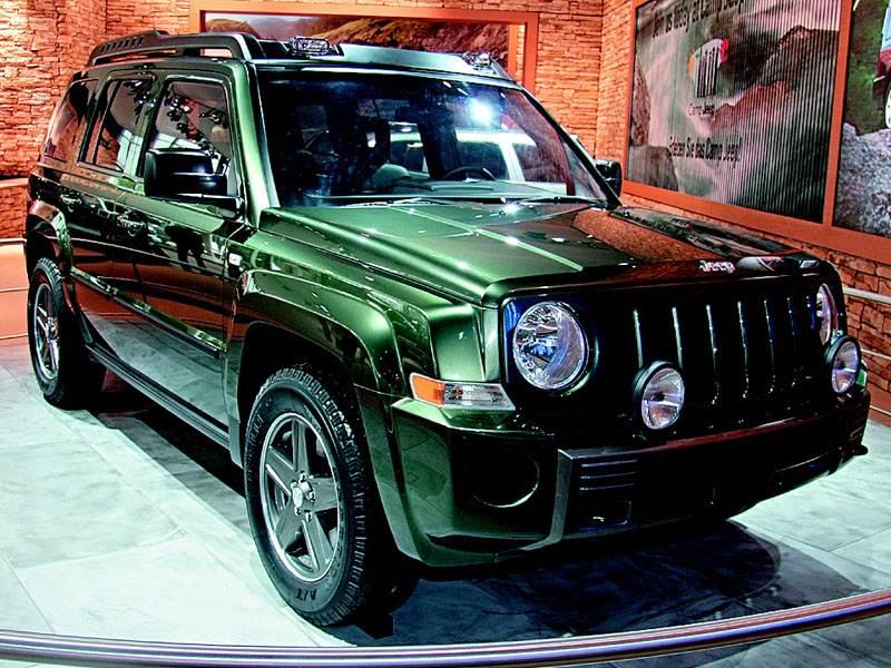 Новый Jeep Compass - Автосалон во Франкфурте 2005 : : отход от традиций
