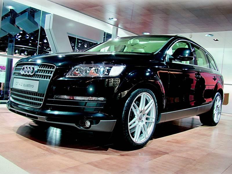 """Новый Audi Q7 - Автосалон во Франкфурте 2005 : """"Audi Q7"""" – первый раз в новый класс."""