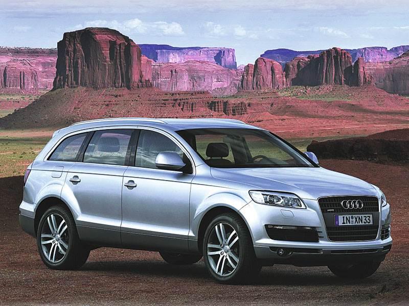 """Гамма """"Audi"""" пополняется внедорожником """"Q7"""""""