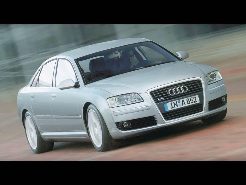 Новый Audi A8 - Самый мощный дизель и.. автомобиль из бутика