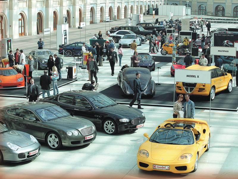 Super Car & Bike Show 2005 : выставка элитной техники