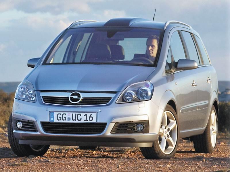 "Новый Opel Zafira - ""Opel Zafira"". Дубль два"