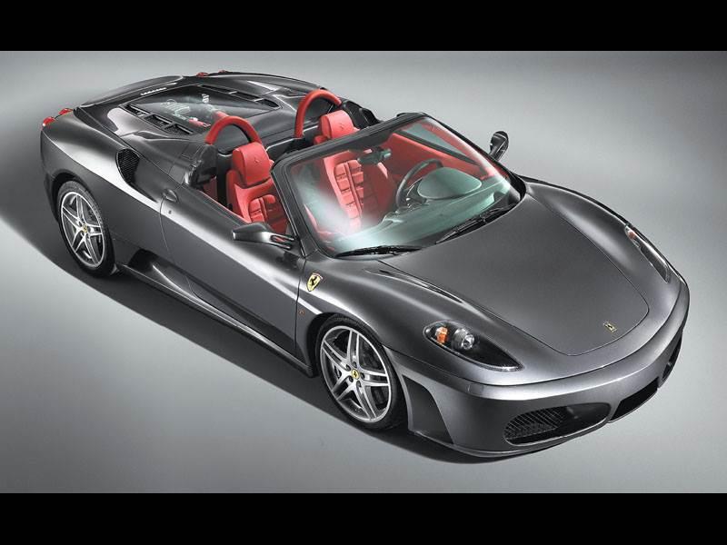 """Новый Ferrari 430 - Новый """"Ferrari"""". Теперь без крыши"""