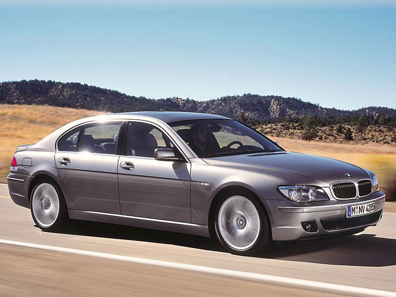"""Жизненный цикл """"семерки"""" BMW"""