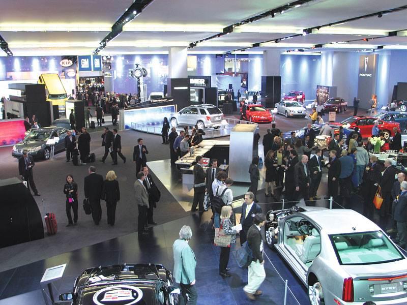 Cевероамериканское международное автошоу 2005