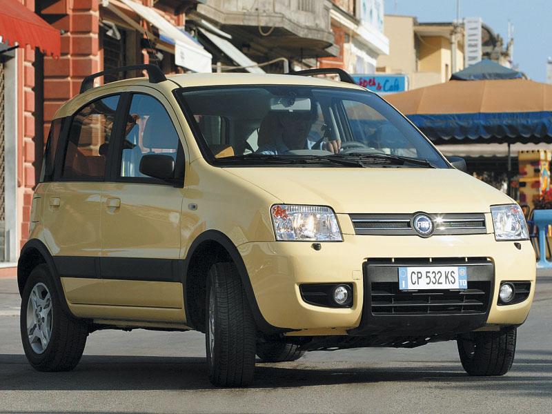 Промежуточное звено (Fiat Panda, Suzuki Ignis, Suzuki Liana, Subaru Impreza)