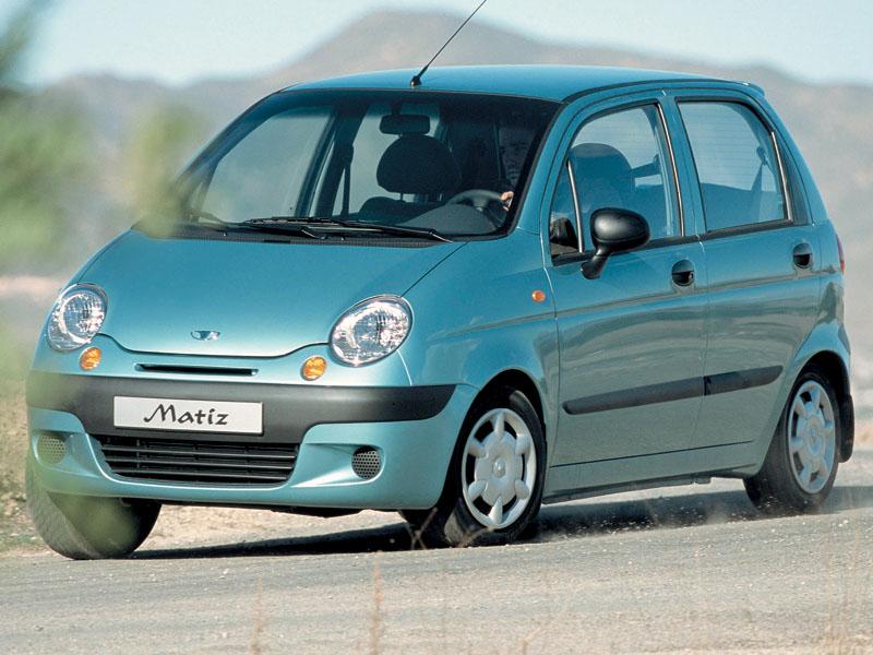 Chevrolet Spark, Daewoo Matiz, Fiat Panda, KIA Picanto, Peugeot 107