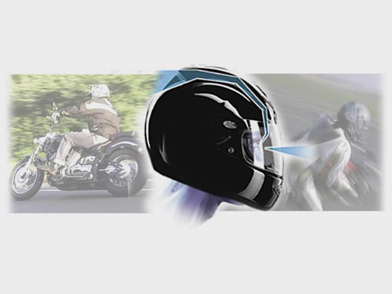 Шлем с.. зеркалом заднего вида.
