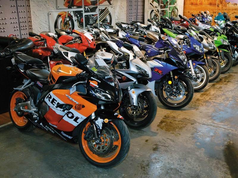 Не промахнись при покупке подержанного мотоцикла .