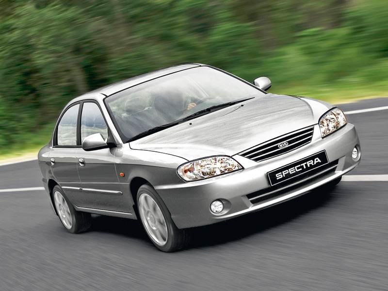 Выбор большинства (Chevrolet Lacetti, Daewoo Nexia, Ford Focus II, Kia Spectra, Mitsubishi Lancer, Nissan Almera Classic, Renault Logan) Spectra