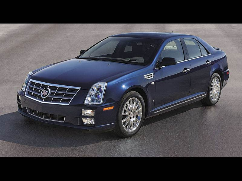 Трое старших (Chrysler 300C, Cadillac STS, Lincoln Town Car) STS поколение I