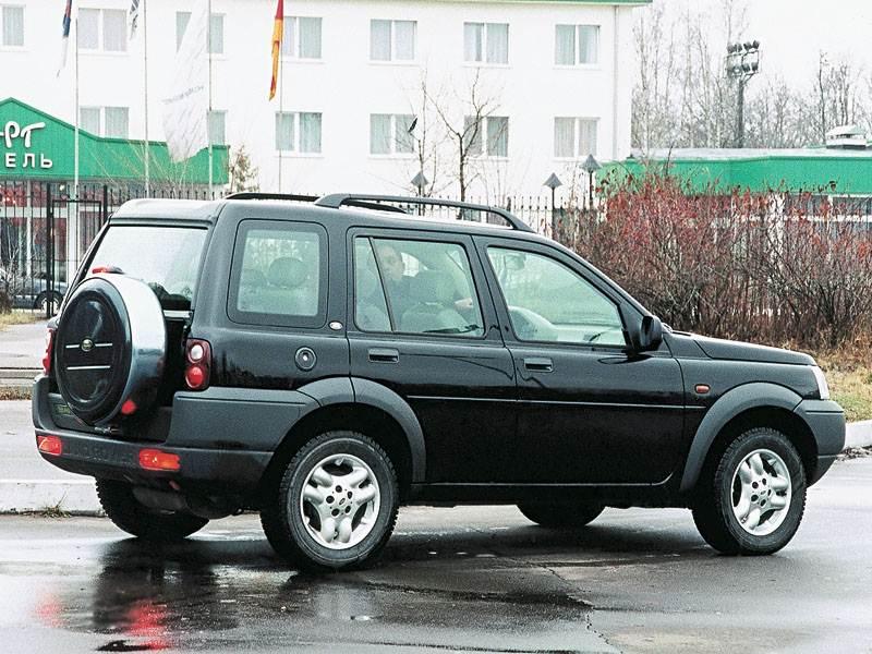 По дорогам и не только.. (Toyota RAV4, Honda CR-V, Land Rover Freelander (95-02 гг.)) Freelander поколение I