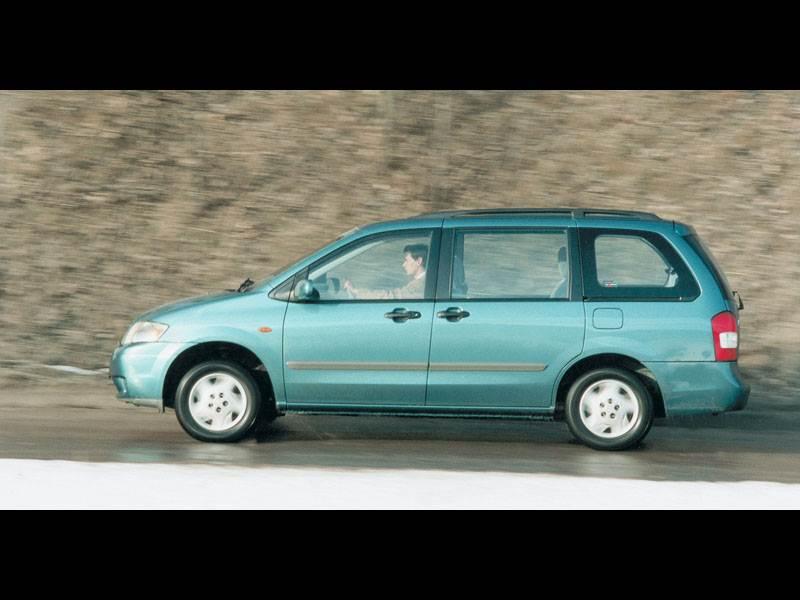 Крупный формат (Chrysler Voyager (Dodge Caravan), Mazda MPV, VW Sharan) MPV поколение III