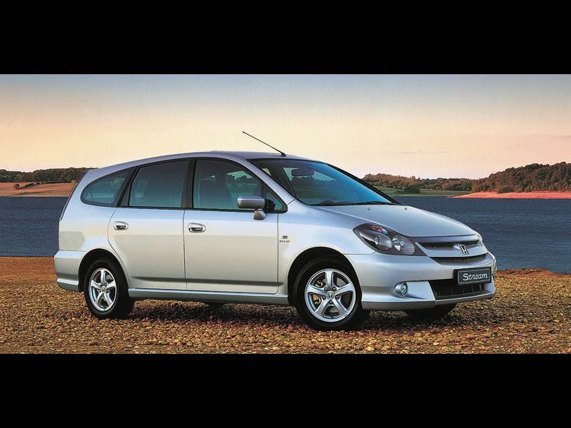 100-процентная практичность (Renault Grand Scenic, Honda Stream, VW Touran) Stream поколение II