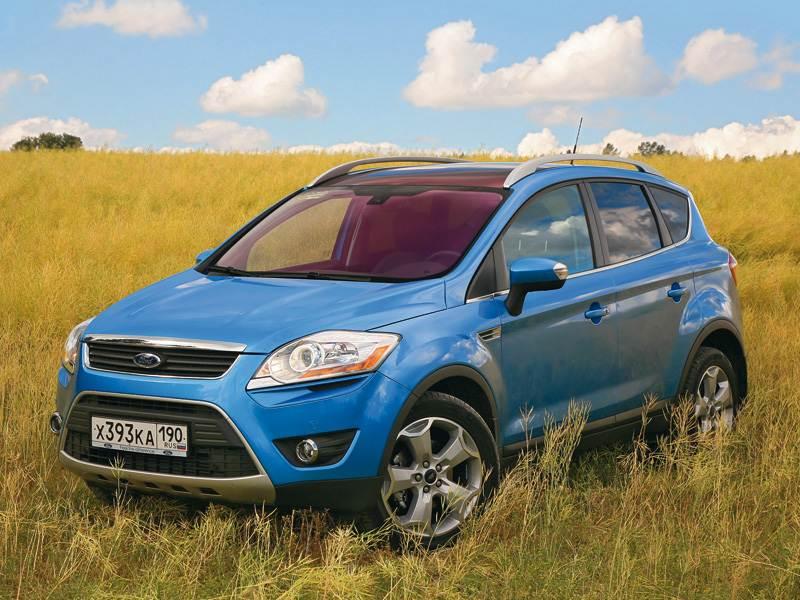 Ford Kuga 2008 статика фото 3