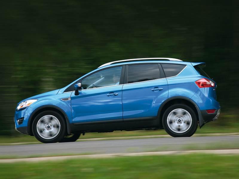 Ford Kuga 2008 динамика фото 2