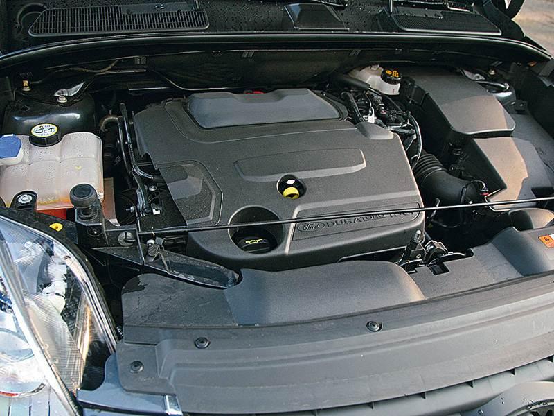 Ford Kuga 2008 моторный отсек