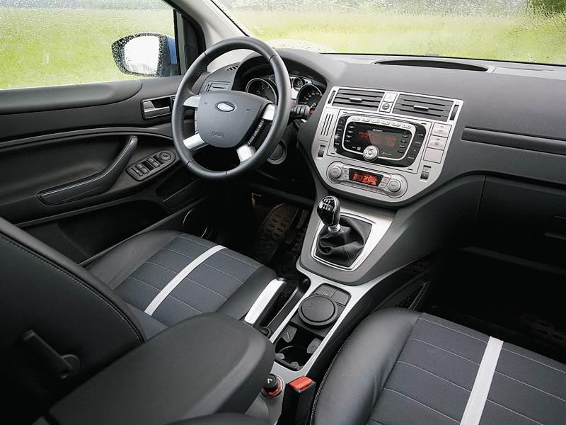 Ford Kuga 2008 передняя часть салона фото 1