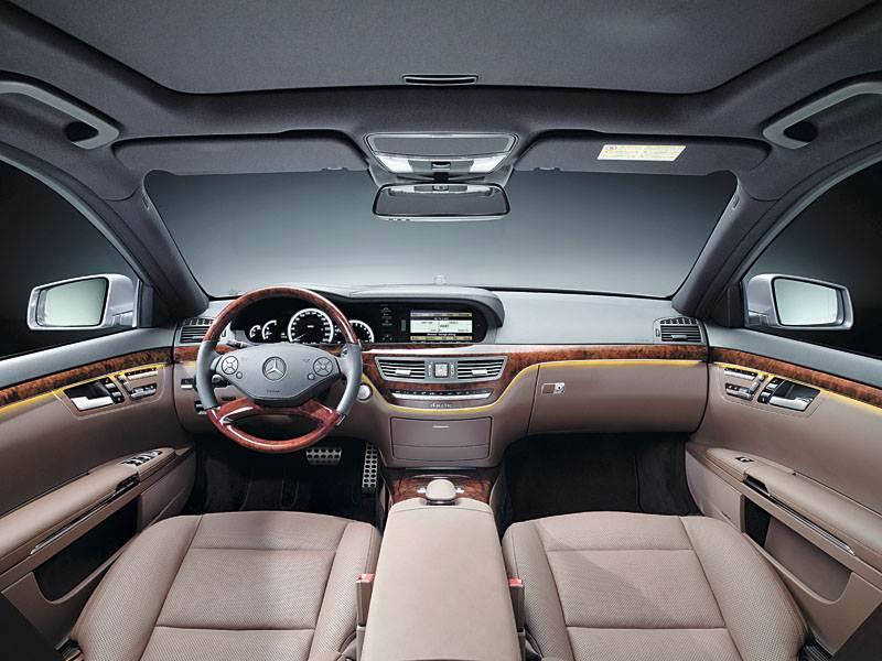 Mercedes-Benz S-Class W221 рест.