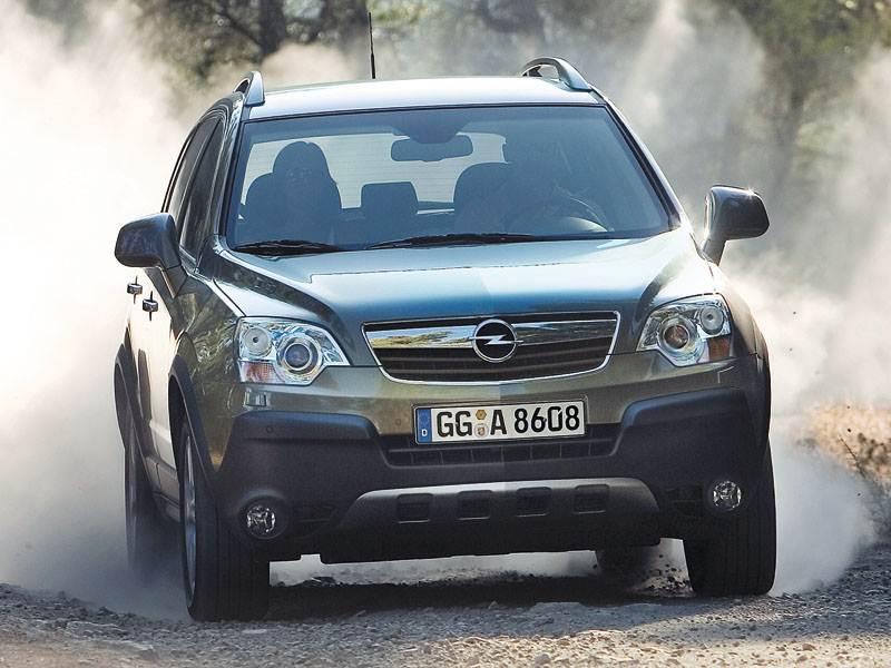 Opel, Antara