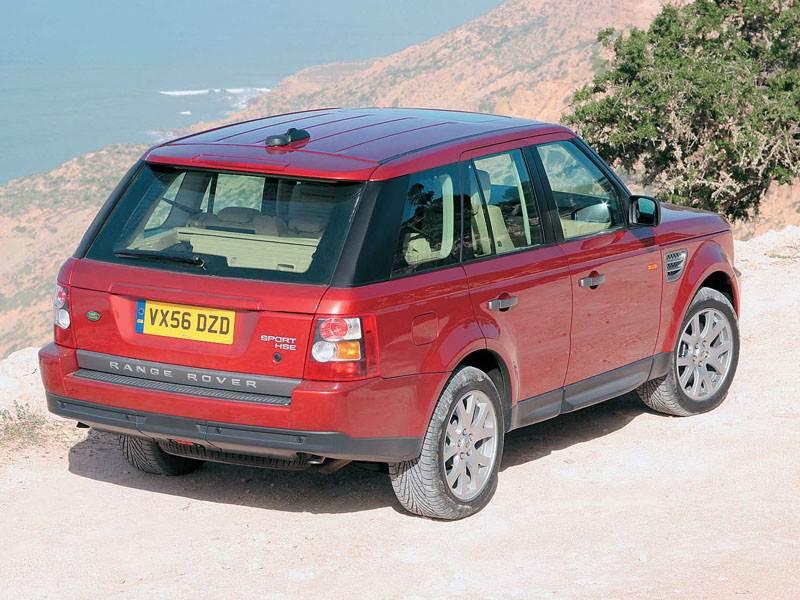Land Rover Range Rover L322 рест.