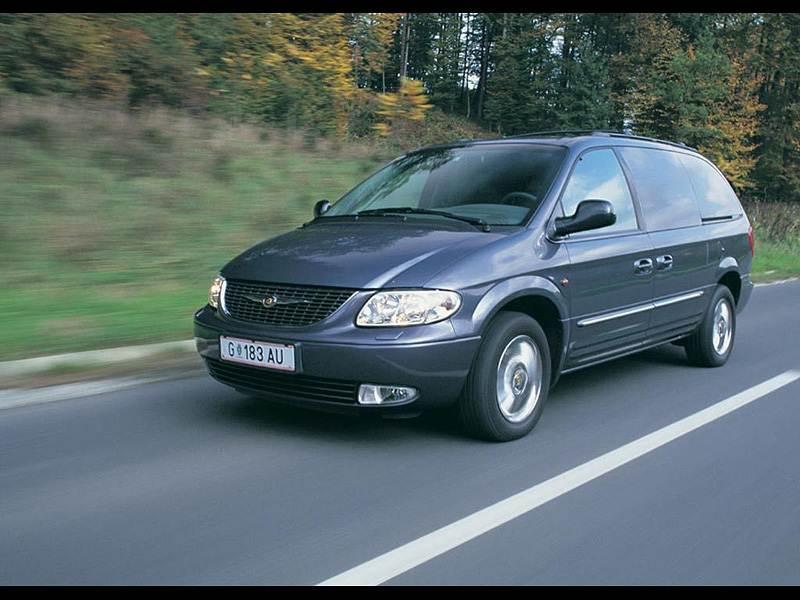 Крупный формат (Chrysler Voyager (Dodge Caravan), Mazda MPV, VW Sharan) Voyager поколение V