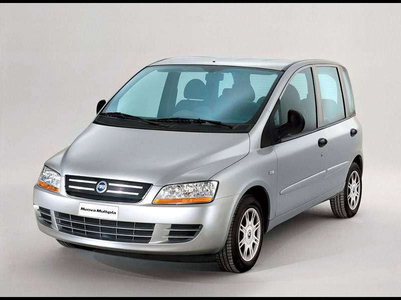 Недорогая универсальность (Renault Scenic, Citroen Xsara Picasso, Fiat Multipla) Multipla поколение I-II