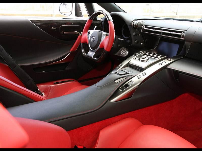 Картинки по запросу Lexus LFA салон