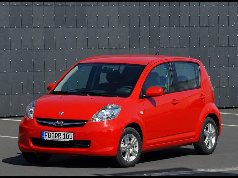 Долговечные игрушки (Nissan Micra, Toyota Yaris, Subaru Justy, Suzuki Swift) Justy поколение II