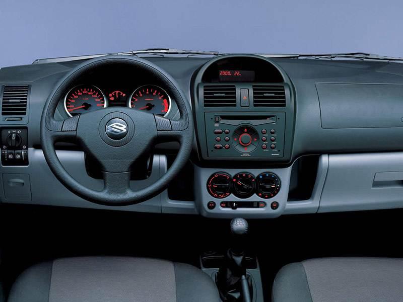 Suzuki Ignis 2004 органы управления и приборы