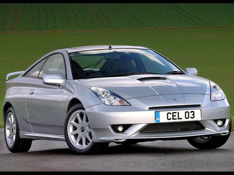 Игрушки для взрослых (Toyota Celica, Mitsubishi Eclipse, Hyundai Coupe) Celica поколение VII