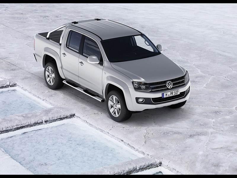 Volkswagen Amarok 2010 имеет строгий и пропорциональный кузов