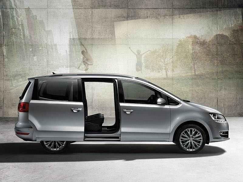 Крупный формат (Chrysler Voyager (Dodge Caravan), Mazda MPV, VW Sharan) Sharan поколение II