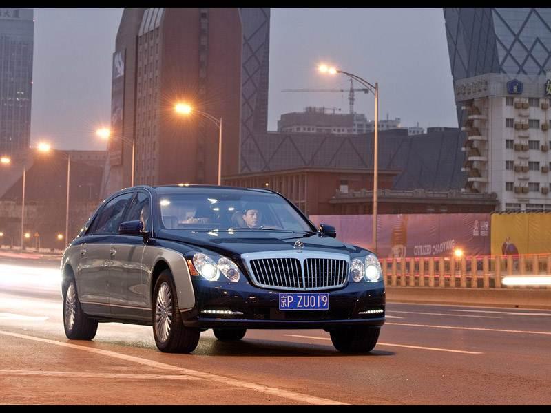 Истеблишмент (Audi A8 W12, Bentley Continental Flying Spur, BMW 760 Li, Maybach 62, Mercedes-Benz S600L, Rolls Royce Phantom Extended Wheelbase, Volkswagen Phaeton) 62
