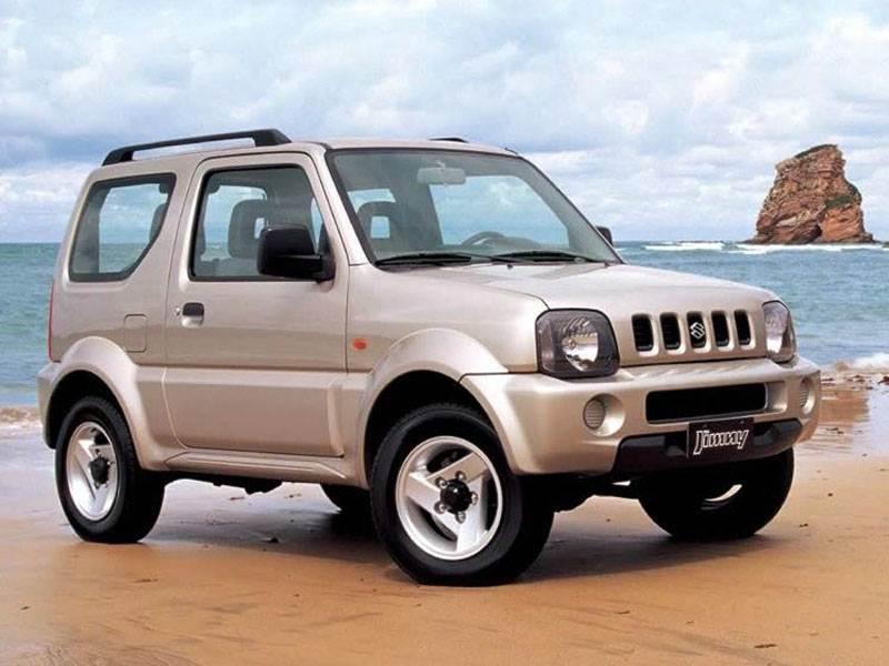 Серьезные игрушки (Daihatsu Terios, Suzuki Jimny, Mitsubishi Pajero Pinin) Jimny поколение III