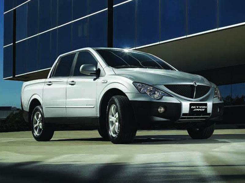 SsangYong, Actyon Sports