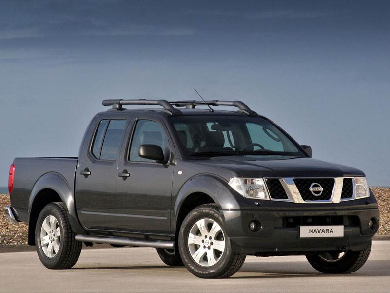 Практичный квинтет (Ford Ranger, Mazda B, Mitsubishi L200, Nissan Navara, SsangYong Musso Sports) Navara