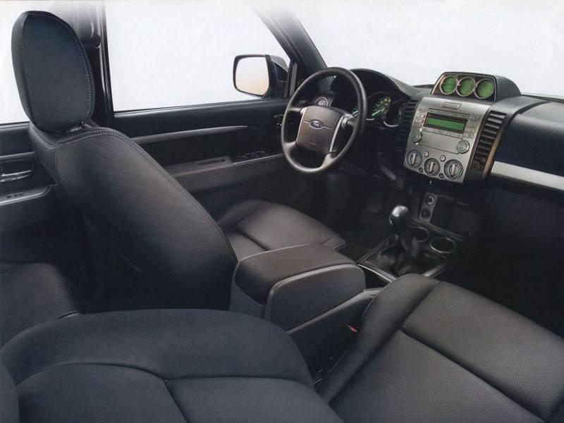 Ford Ranger 2006 приборы и органы управления