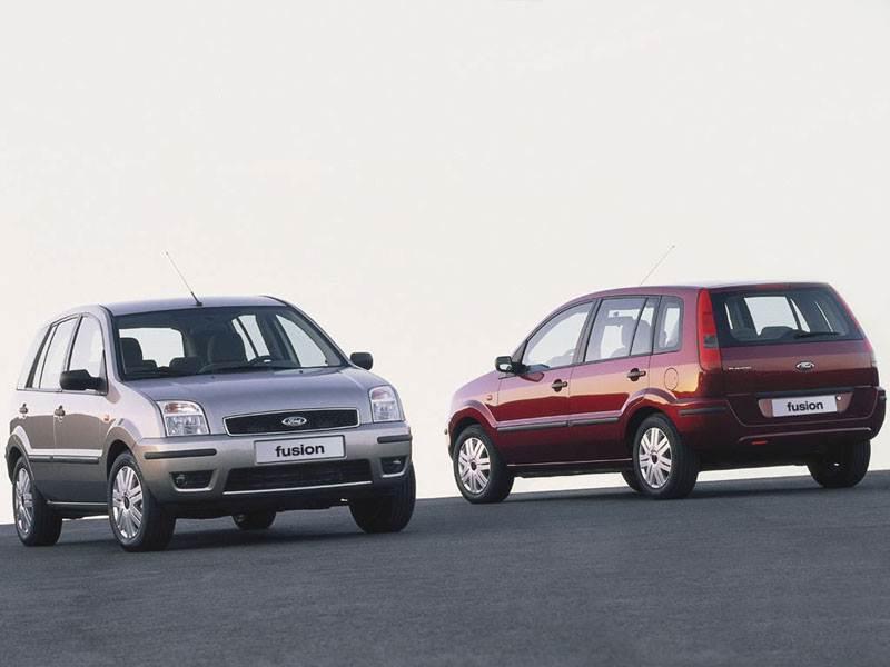 Ford Fusion 2002 статика фото 3