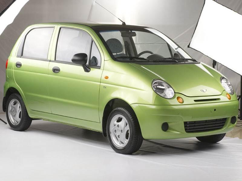 Меньше некуда (Daewoo Matiz, Chevrolet Spark, Kia Picanto) Matiz поколение I