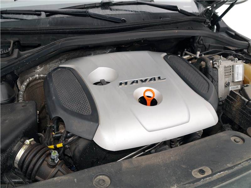 Haval H8 2015 двигатель