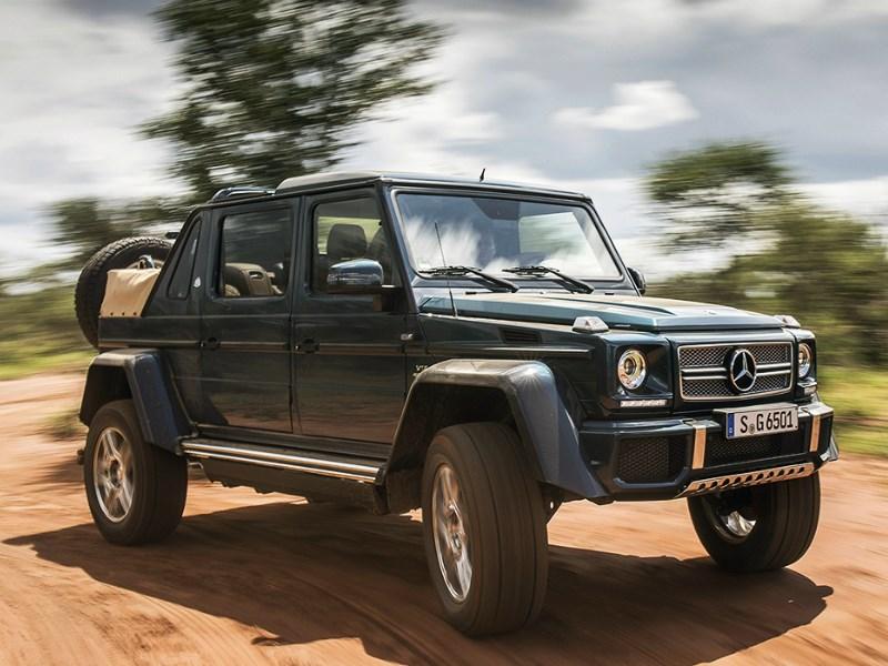 Mercedes-Benz анонсировал появление топовой версии G-Class на российском рынке