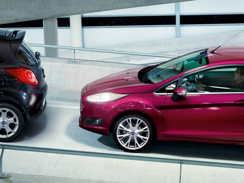 В России можно заказать Ford Focus, самостоятельно тормозящий перед препятствием