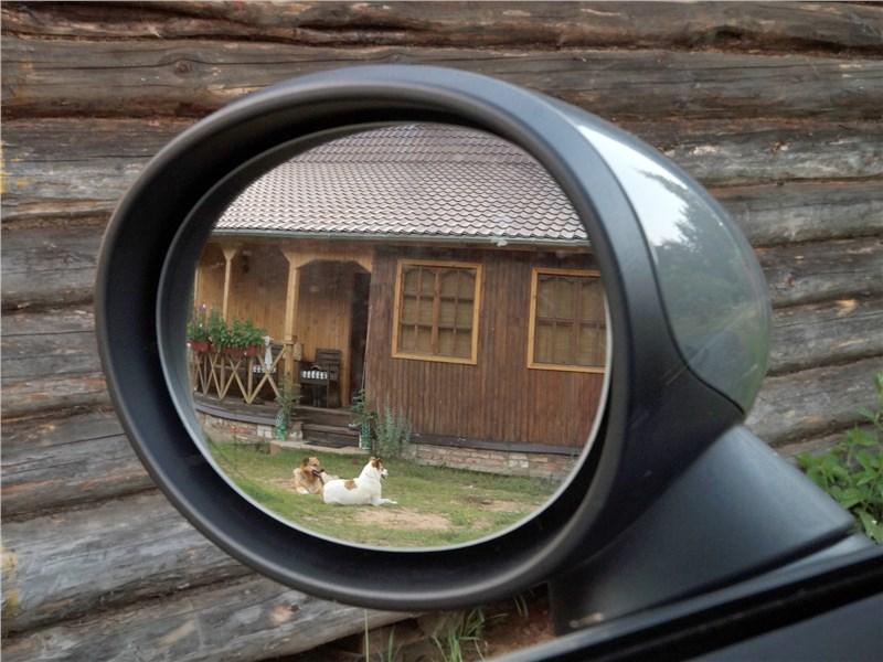 Mini Clubman Cooper S 2016 боковое зеркало