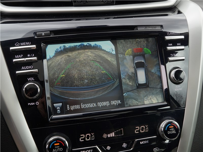 Nissan Murano 2016 монитор