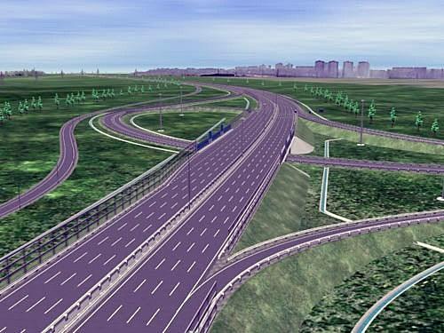 Центральная кольцевая автодорога вокруг Москвы появится к 2018 году