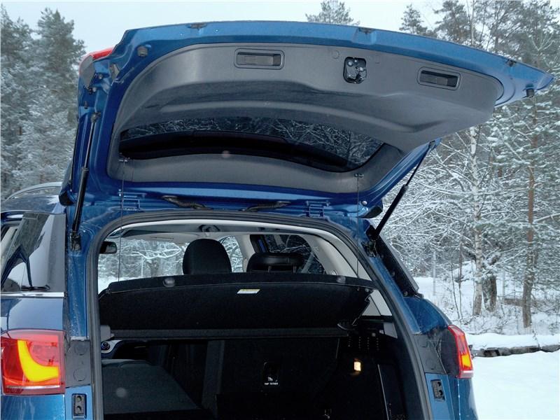 Haval H6 Coupe 2017 багажное отделение