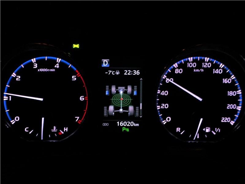Toyota RAV4 2016 приборная панель